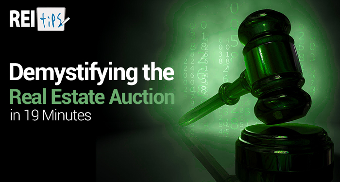 Demystifying the Real Estate Auction in 19 Minutes