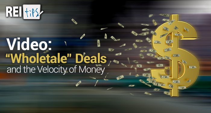 """VIDEO: """"Wholetale"""" Deals and the Velocity of Money"""